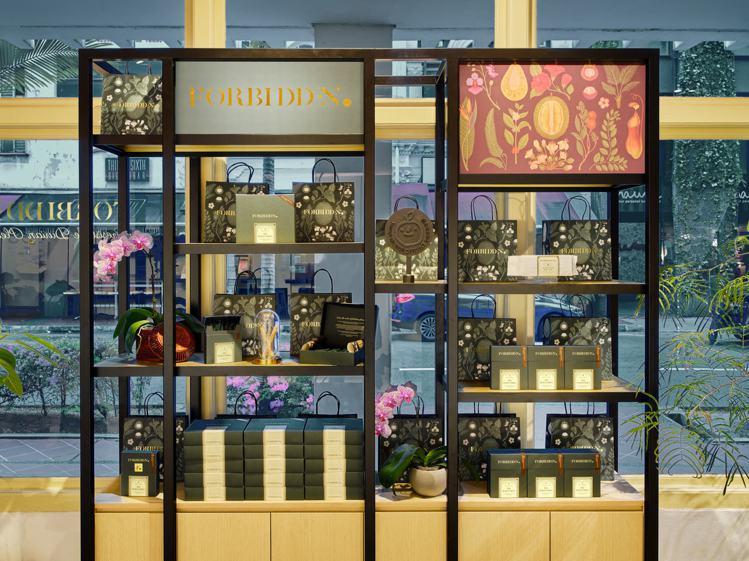 新加坡作為微熱山丘「全球果實計劃」的海外首站,販售全系列產品。圖/微熱山丘提供