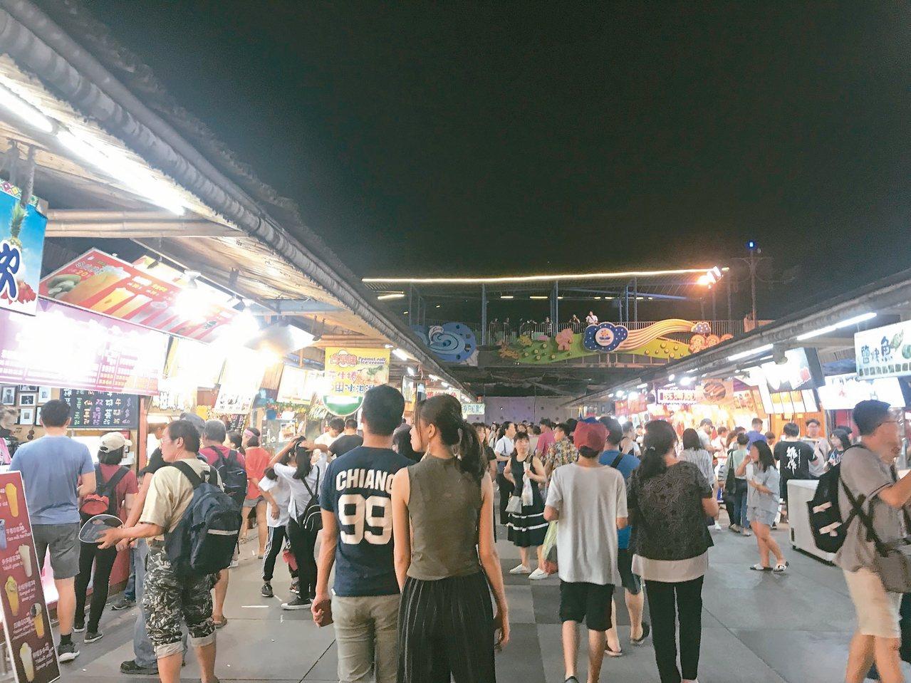 花蓮東大門夜市。 圖/聯合報系資料照片