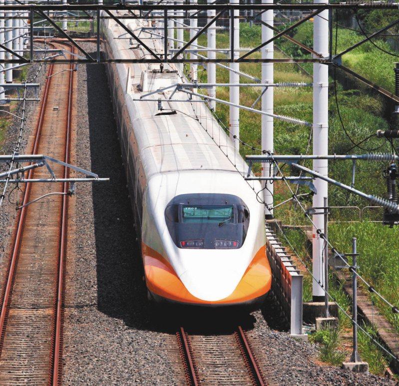 一名網友看到高鐵南延到屏東的新聞,好奇的想知道日後高鐵是否也會直達桃園機場?圖/聯合報系資料照片