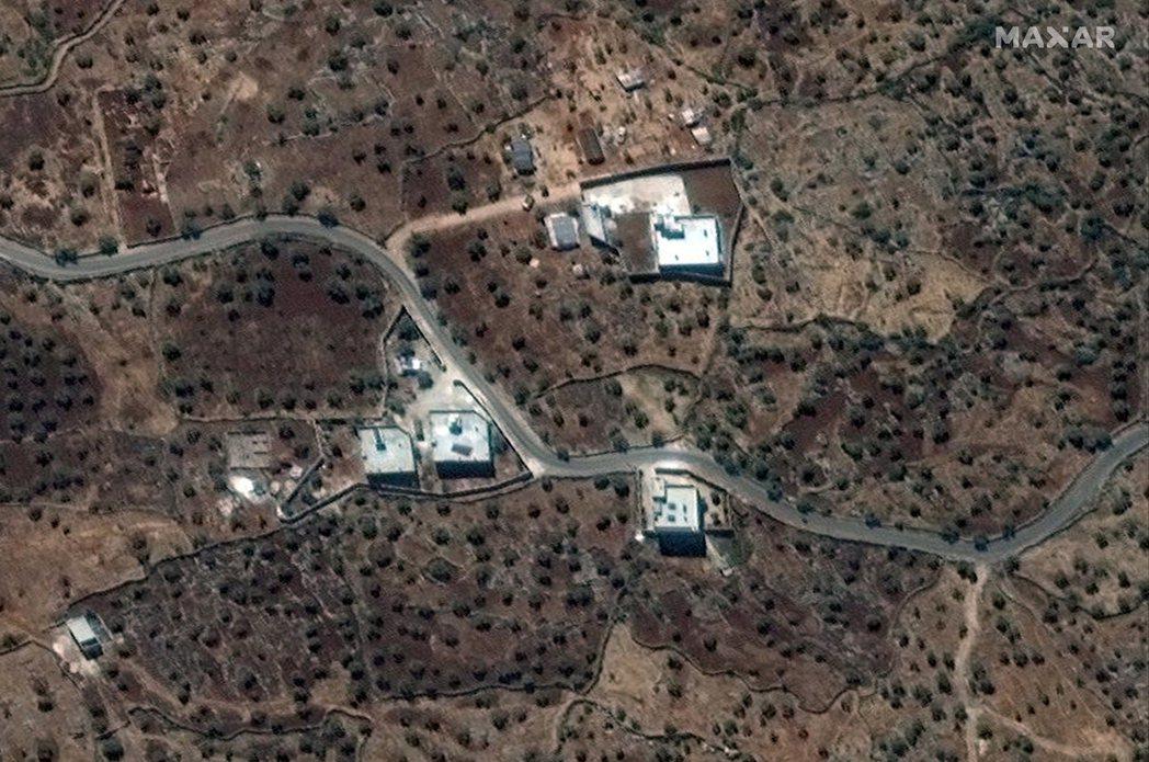 美軍今年九月已掌握巴格達迪行蹤,透過衛星拍到他藏身之處。(歐新社)