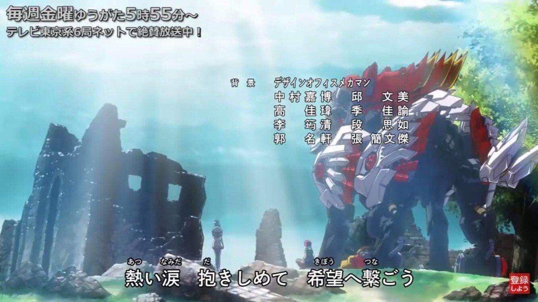 日本當季連載動畫《機獸新世紀第5話》的背景美術設計由義大數媒系學生與專家共同完成...
