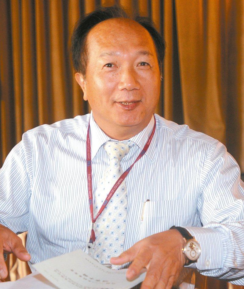 東貝光電董事長吳慶輝。 圖/聯合報系資料照片