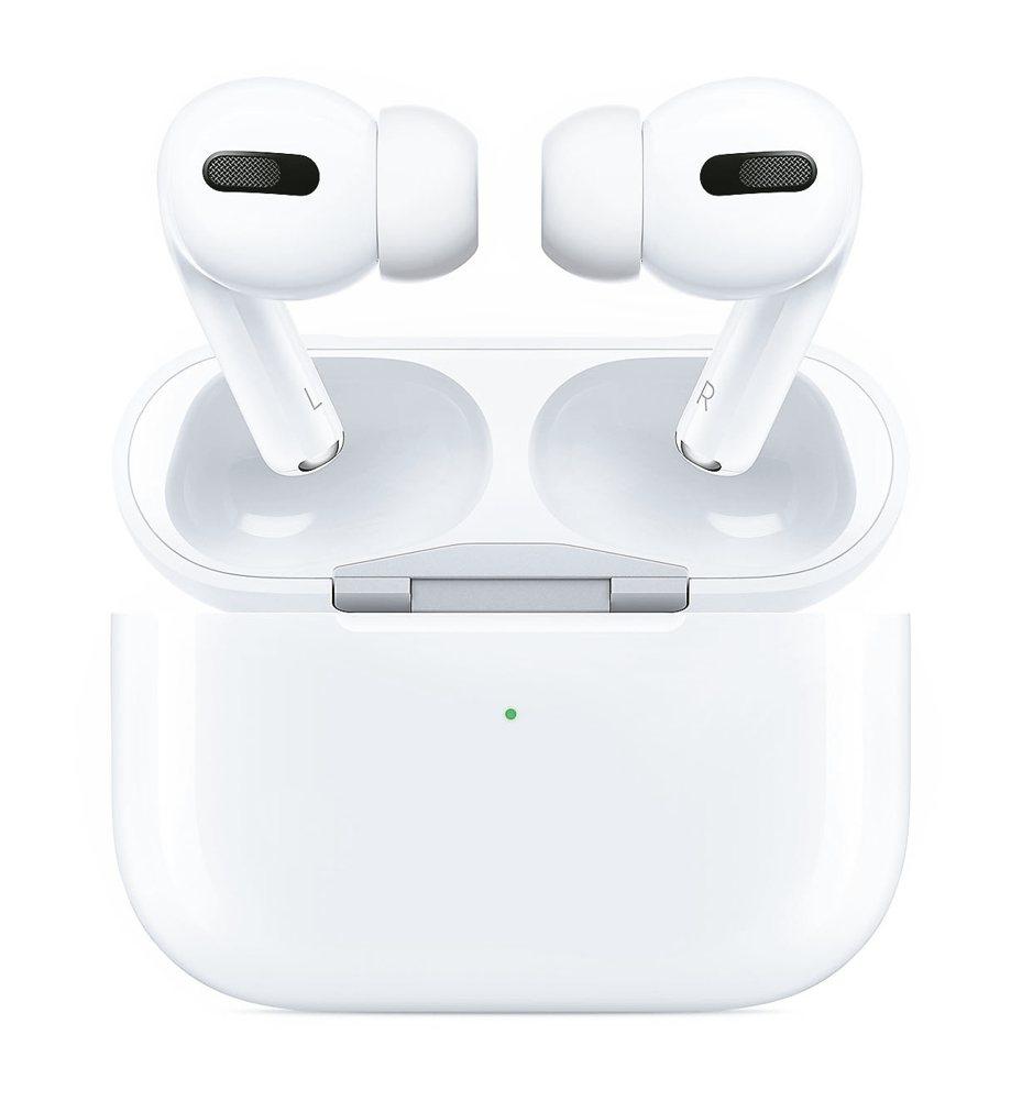 蘋果發表新一代無線耳機AirPods Pro,主打降噪、防水功能。 圖/蘋果提供