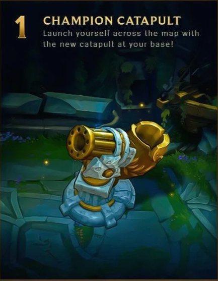 英雄彈射器將可幫助玩家快速重返戰場。