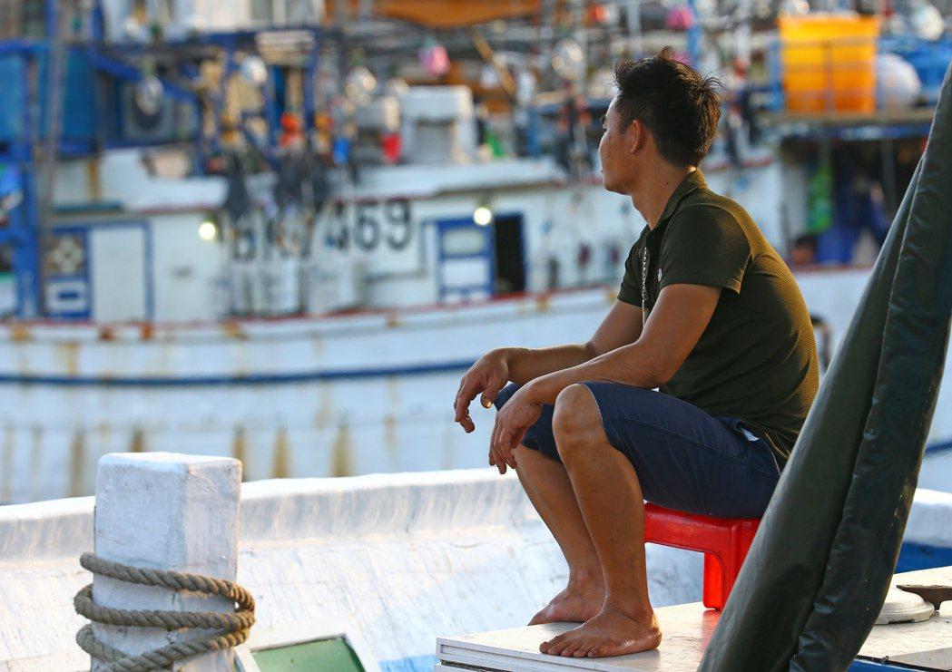 宜蘭南方澳有著不少外籍漁工。 圖/杜建重攝影