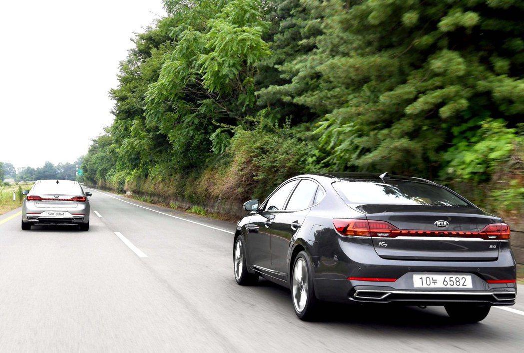 新世代Kia K5/Optima也將採用小改款Kia K7 Premier所使用...