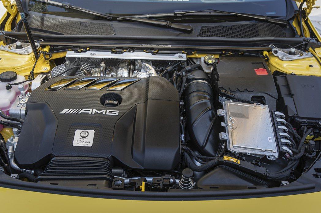 2.0升四缸渦輪增壓引擎,最大馬力比起前一來到了421匹。 摘自Mercedes