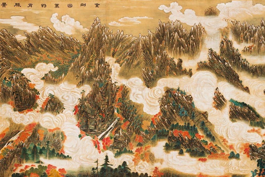位在北韓南側江原道的金剛山,高度超過海拔1,600公尺,是僅次白頭山的韓半島第二...