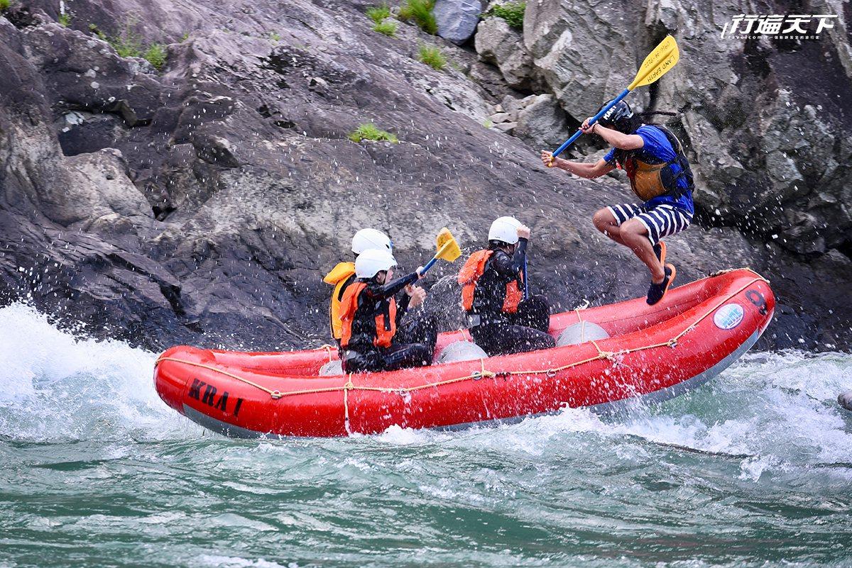 球磨川為日本三大急流之一。(圖片提供|許傑)