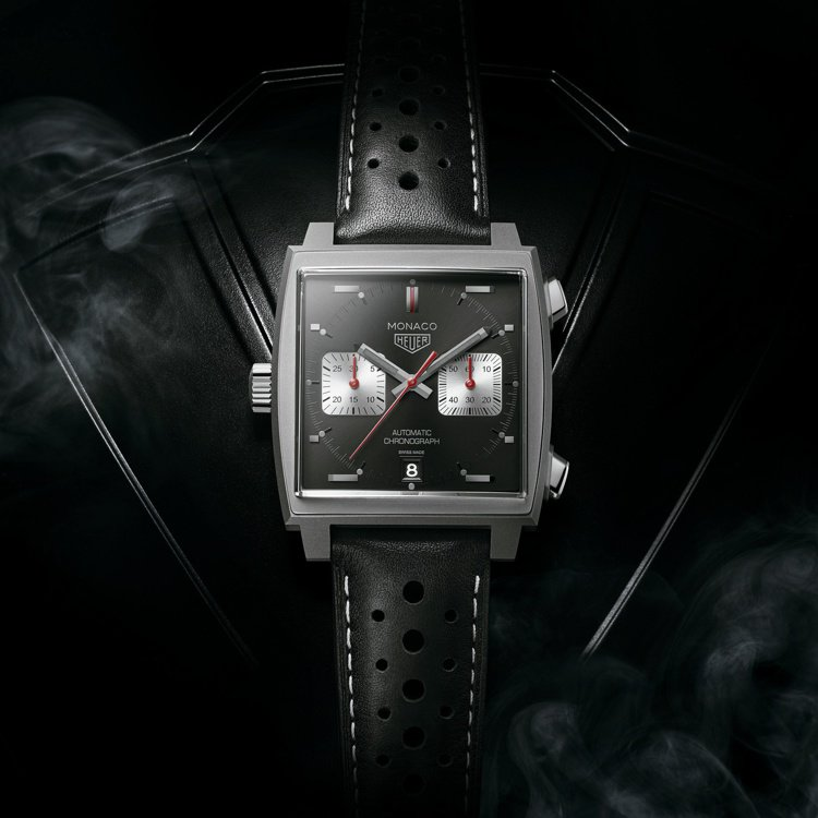泰格豪雅Monaco 2009–2019限量典藏版腕表,不鏽綱表殼搭載Calib...