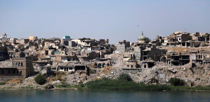 根據匿名的美國官員,美國已為伊斯蘭國首腦巴格達迪舉行海葬,並依循伊斯蘭傳統宗教儀式進行。圖為伊斯蘭國一度占據的重要據點伊拉克北部大城摩蘇爾。路透社