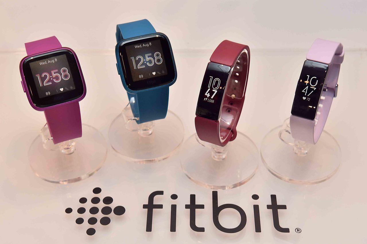 據傳Google有意收購Fitbit,進軍健身追蹤裝置及智慧手表市場。本報資料照