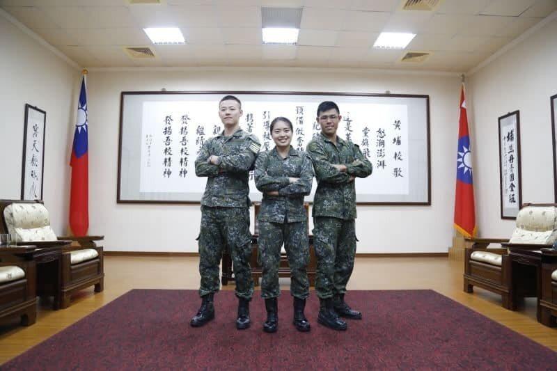 我國目前持續送訓西點軍校,包括徐以樂、李承濂及胡家琪三名男女學生,在美表現優異。圖/陸軍官校臉書粉絲專頁