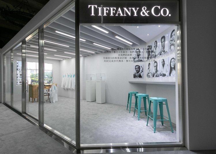 根據《彭博社》的報導,LVMH集團有意次斥資買下Tiffany珠寶。圖/Tiff...