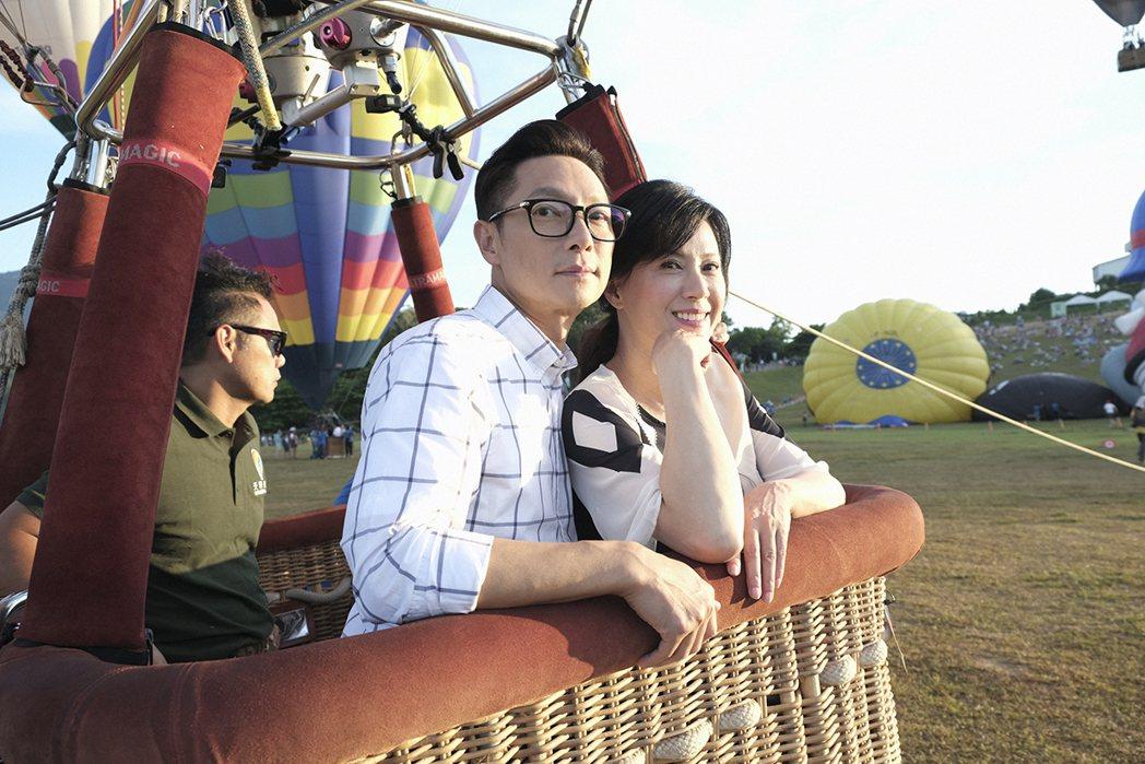 謝祖武(左)演出「初戀的情人」入圍亞洲電視節最佳男主角獎。圖/TVBS提供