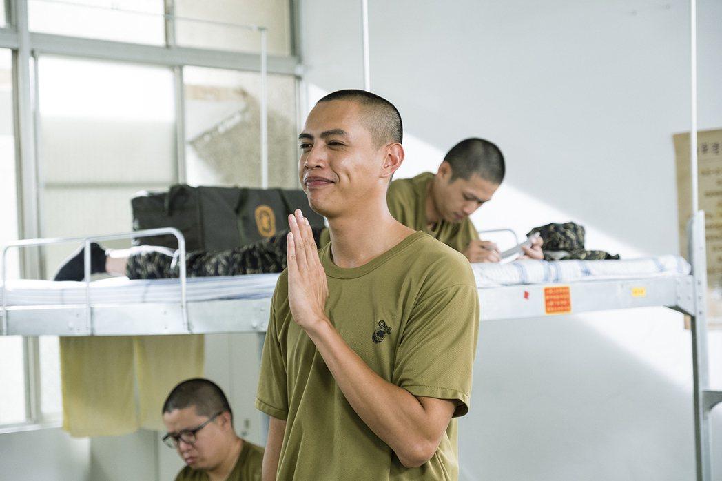 鯰魚哥以「女兵日記」入圍亞洲電視節最佳男配角獎。圖/TVBS提供