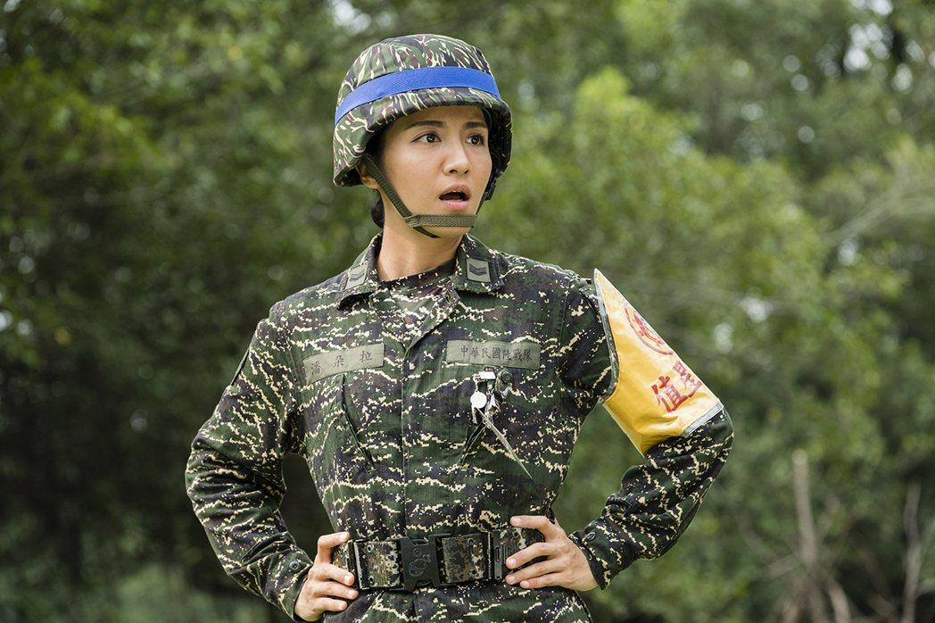 李宣榕以「女兵日記」入圍亞洲電視節最佳女配角獎。圖/TVBS提供