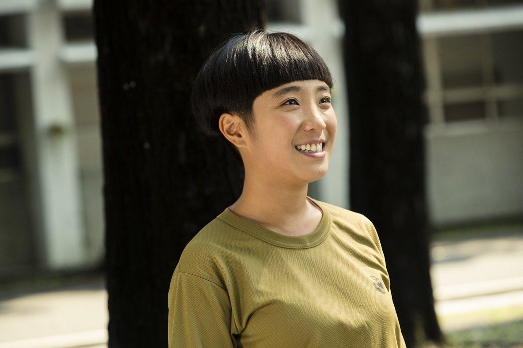 梁舒涵以「女兵日記」入圍亞洲電視節最佳女主角獎。圖/TVBS提供