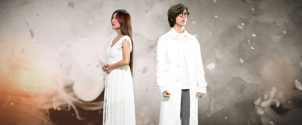 方泂鑌與師妹秦宇子新歌「五月雪」,MV宛如古裝大戲。圖/海蝶音樂提供