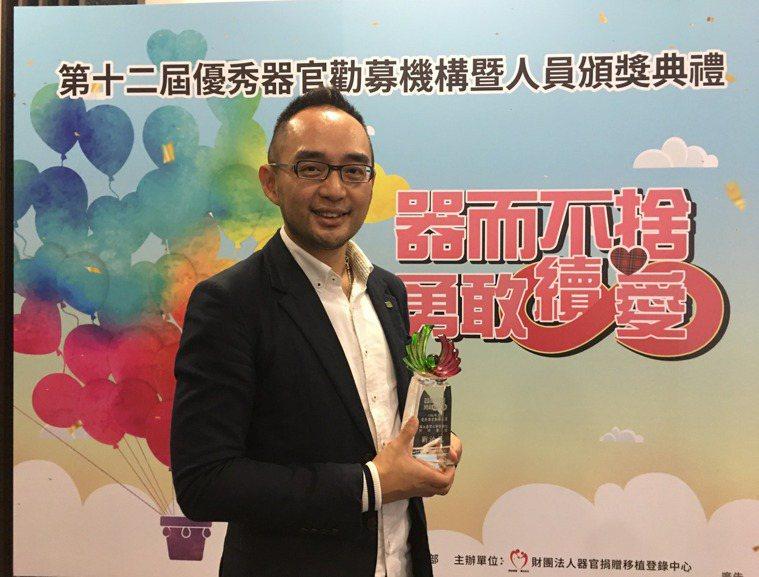 劉治民醫師笑稱自己從事器捐工作是「不務正業」。 記者楊雅棠/攝影
