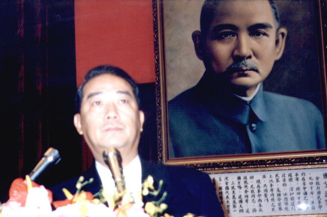 1997年,宋楚瑜以「請辭待命」之身暫時回到省府。圖/聯合報系資料照片