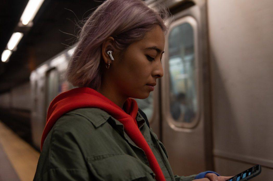 蘋果發表AirPods Pro 新增降噪、防水功能。 本報系資料照片