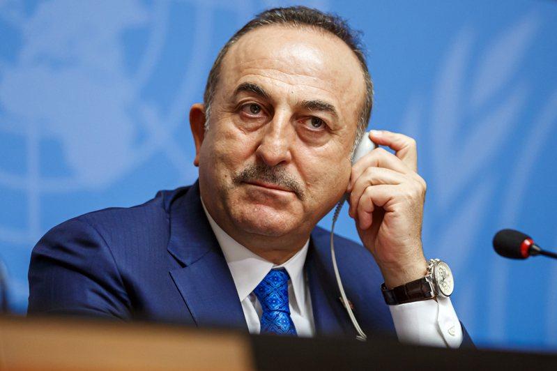 圖為土耳其外交部長卡夫索格魯。 歐新社