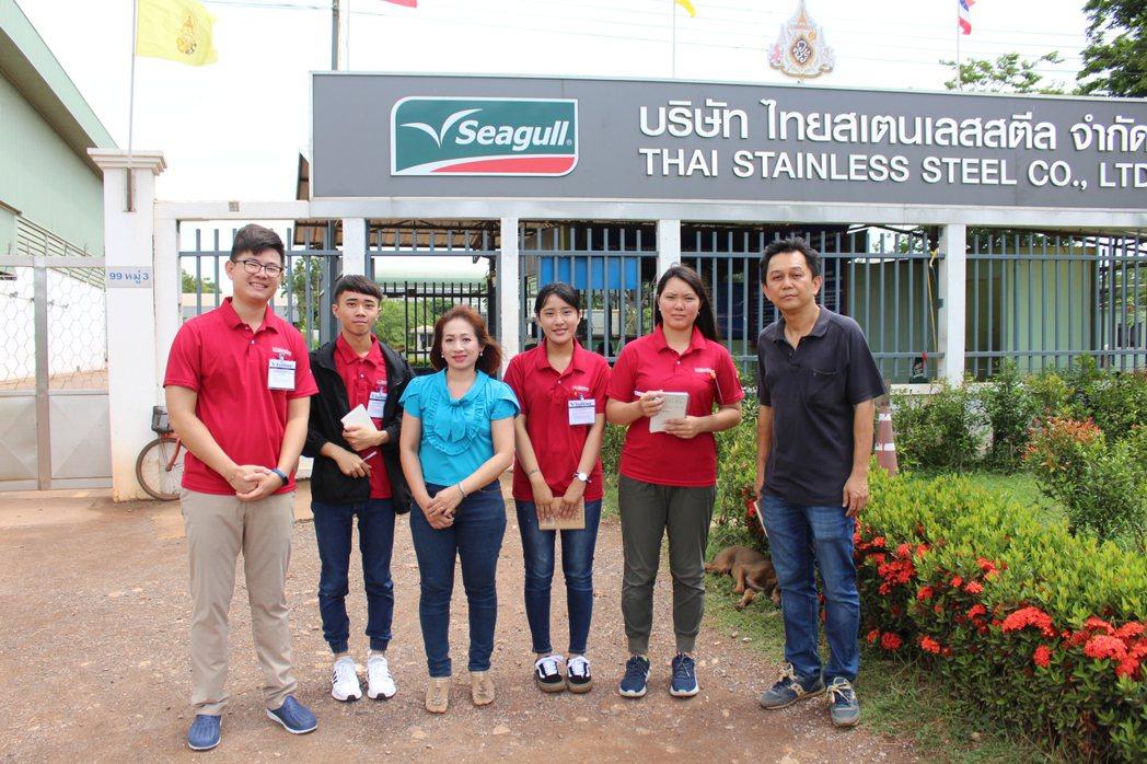 同學們在泰國可以學習到許多不同學校教的東西。 嘉藥/提供
