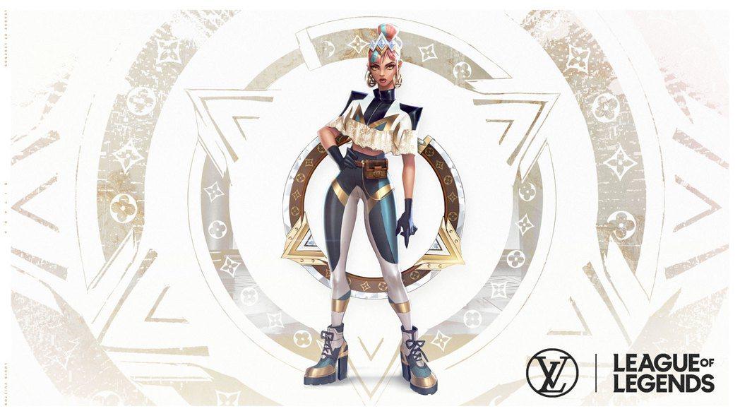 姬亞娜「尊爵不凡」造型,由路易威登(Louis Vuitton)女裝藝術總監Ni...