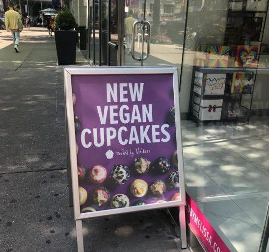 曼哈頓的純素甜點店。(熊傳慧/攝影)