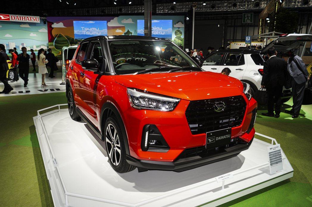 現正於東京車展展出的Daihatsu全新小休旅,基本上可以說是Toyota Ra...