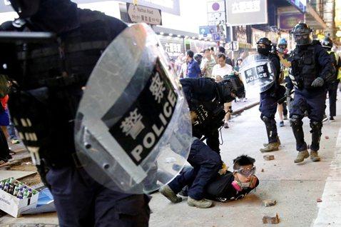 香港流水革命持續中——寫在中共召開「四中全會」之際