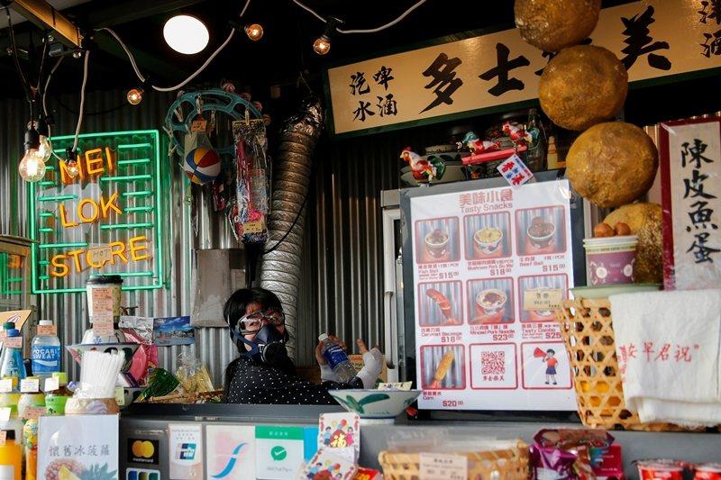 攝於10月27日,香港。 圖/路透社