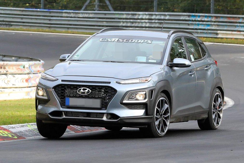 Hyundai第一部性能休旅 全新Kona N首度現蹤!