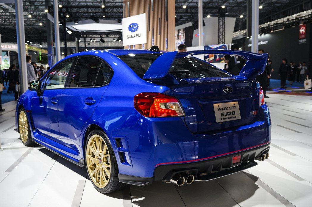 Subaru WRX STI EJ20 Final Edition。 記者趙駿宏...