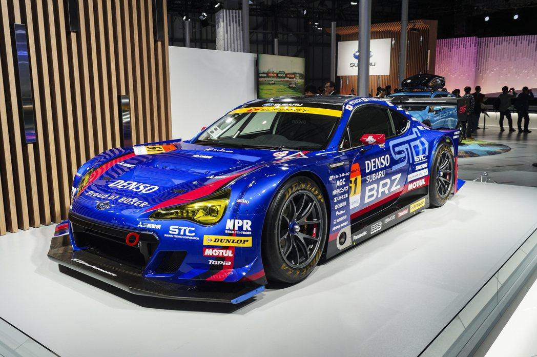 BRZ GT 300賽車。 記者趙駿宏/攝影
