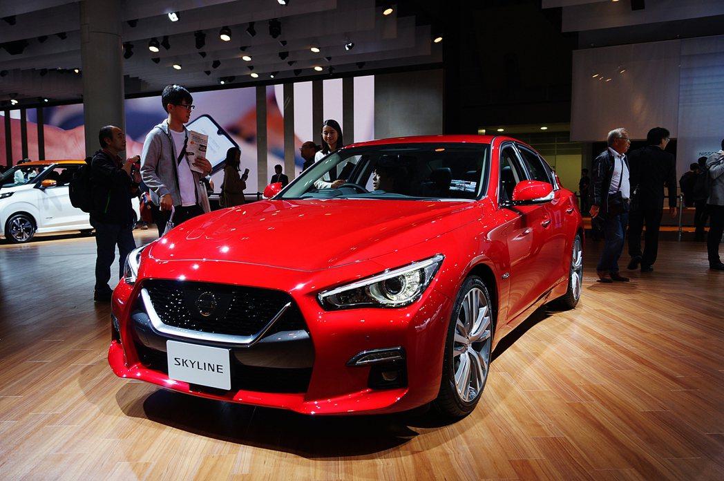 Nissan Skyline GT。 記者趙駿宏/攝影