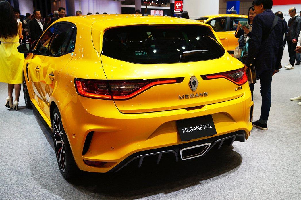 Renault Mégane R.S.。 記者趙駿宏/攝影