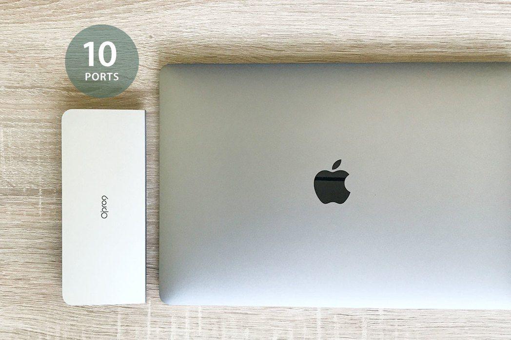 Opro9針對商務人士及遠端工作者需求,推出「USB-C 10埠多功能轉接器」。...