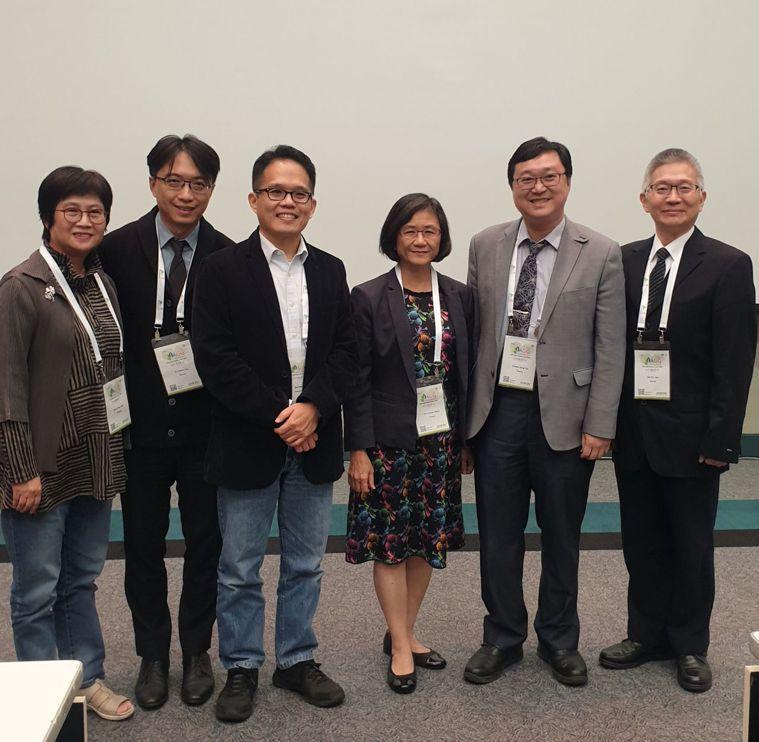 新北失智共照網分享新北經驗,吸引包括新加坡等亞太地區專家到場聆聽。 圖/新北市衛...
