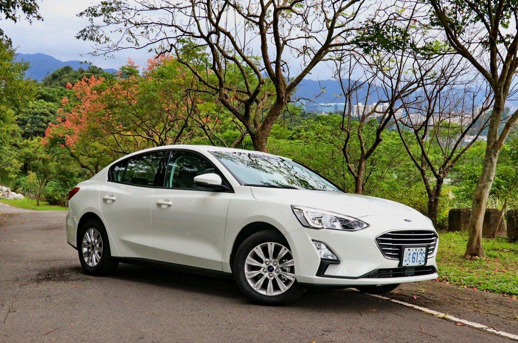 四門車型新增Ford Focus 4D 1.5 NA車型後,有助於吸引更多入門客...