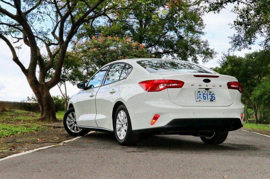 第四代Focus除了整體車身尺碼有感增加,車身強度增加之餘車重還有效減輕。 記者...