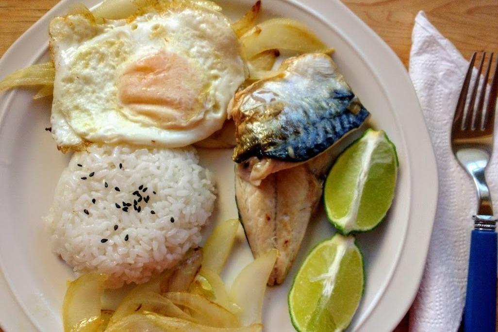 食譜/韓式鯖魚飯,簡易低卡又好吃!