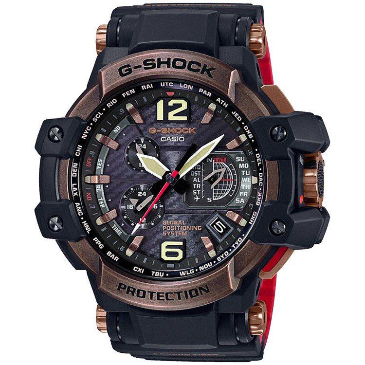 G-Shock GPW-1000RG-1A飛行表,29,000元。圖/Casio...