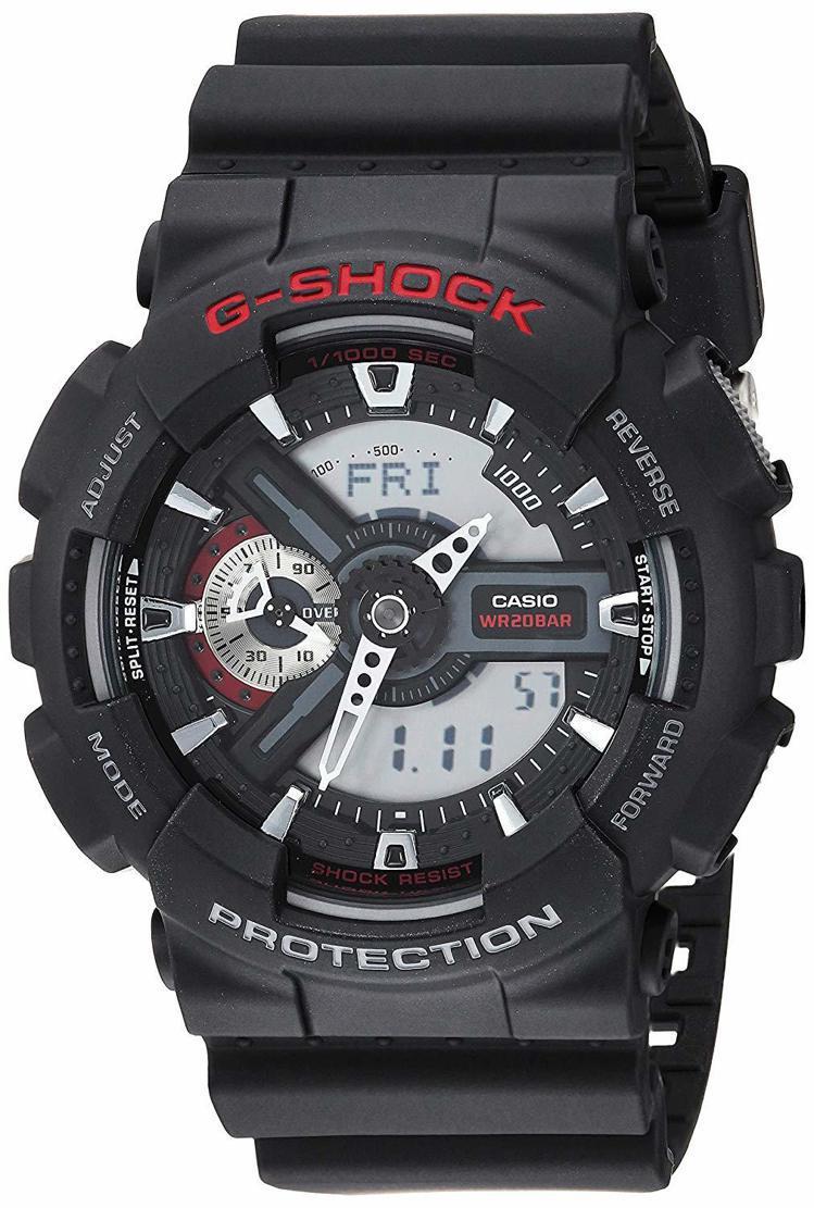 G-Shock BIG G GA-110系列腕表,4,200元。圖/Casio提...