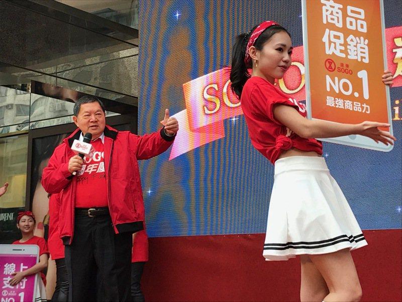遠東集團董事長徐旭東談總統選舉說,現在領導者最重要的就是要「提升經濟」。記者江佩君/攝影