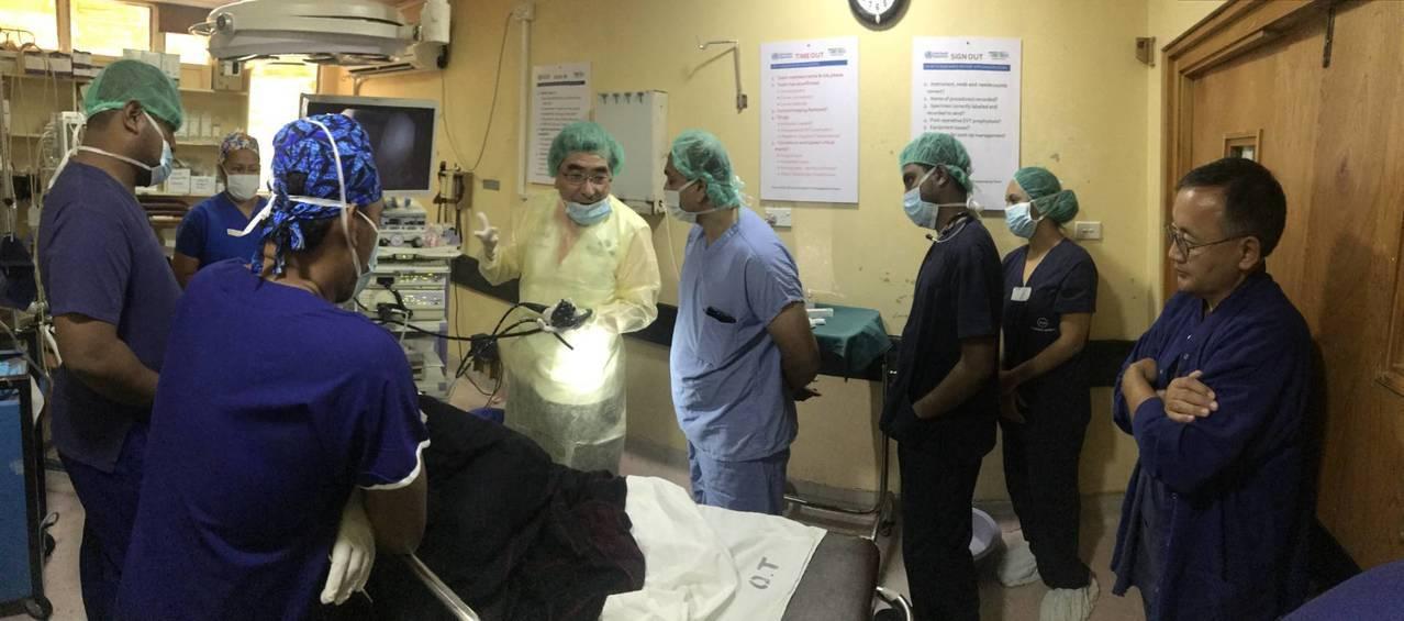 國泰醫院迄今已連續6年第12度前往斐濟進行醫療服務。這次由副院長李嘉龍率領耳鼻喉...