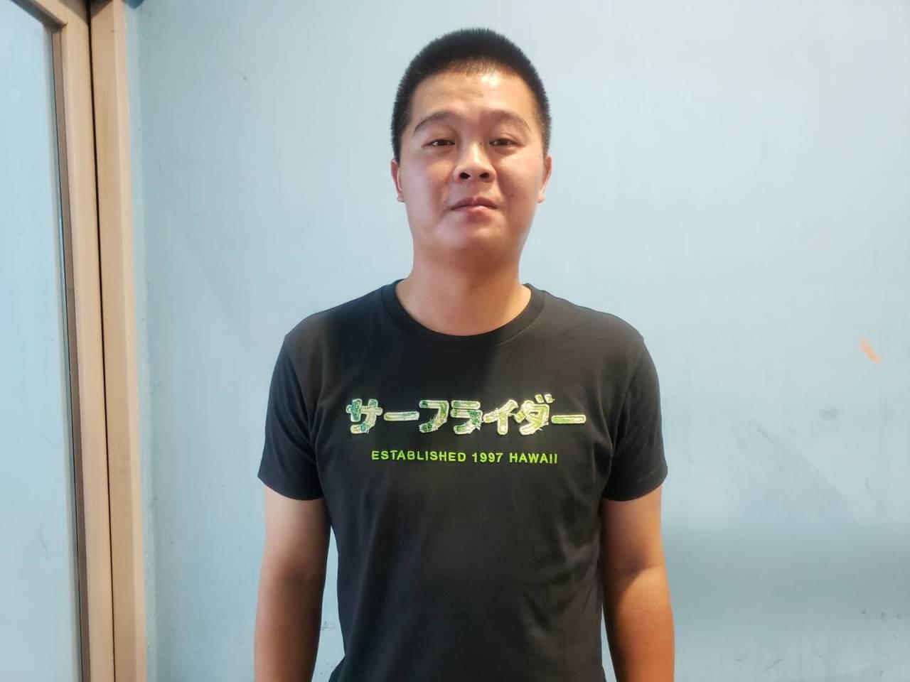 王宗豪成為中華隊28人名單最後一人,今天正式報到。記者藍宗標/攝影