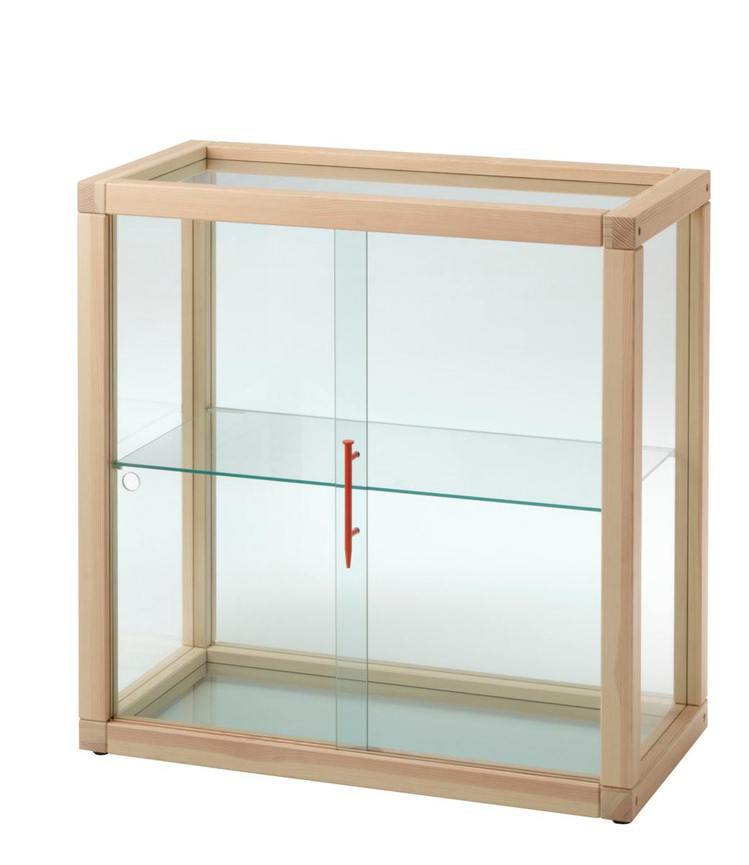 IKEA MARKERAD玻璃門櫃,售價7,990元。圖/IKEA提供