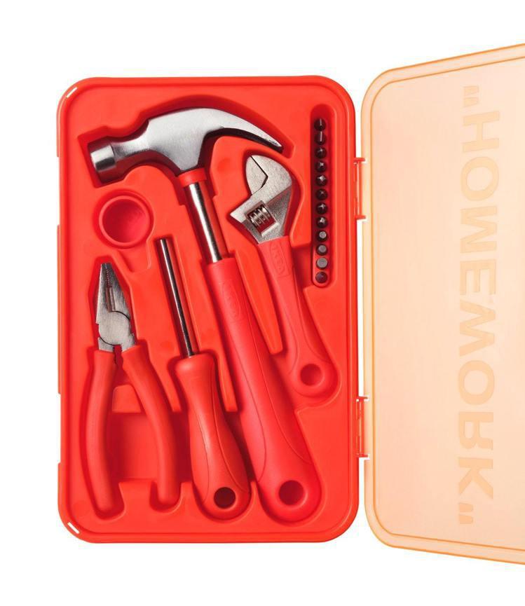 IKEA MARKERAD工具17件組,售價399元。圖/IKEA提供